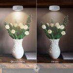 OxyLED Luminaire de placard, veilleuse à DEL alimentée par batterie sans fil avec télécommande, lumières autocollantes pour couloir,salle de bains,chambre à coucher,cuisine (paquet de 6 pièces) de la marque OXYLED image 1 produit
