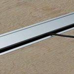 Passe-câble Argent Bureau Eco rectangulaire avec joint à brosse–Passage de câble Aluminium Argent Anodisé–Câble Boîte 100x 450mm pour répondre   Meubles ferrures de gedotec® de la marque Gedotec image 2 produit