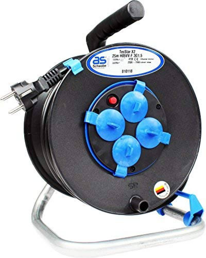 as Intérieur Schwabe 812611 Enrouleur électrique automatique IP 20 Utilisation