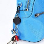 Porte-Clés Rétractable Porte-Clés à Toute Épreuve avec Câble d'Acier de 23 Pouces pour Porte-Badge ID, Noir (4) de la marque Hestya image 4 produit