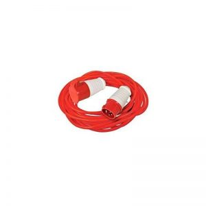 Powermaster 585987 Rallonge électrique 16 A, Rouge de la marque Powermaster image 0 produit