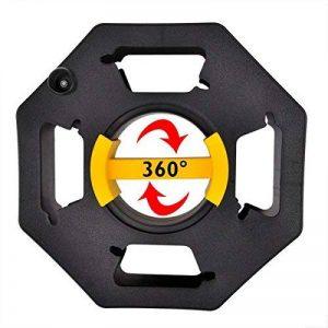 ProPlus Enrouleur de câble vide Boîte à câble avec gleitgriffschale Jardin Enrouleur de câble Bouton rotatif main Enrouleur de câble tuyau utilisable comme Corde Tambour, tambour, dévidoir de câble droit de gaucher de la marque PRO PLUS image 0 produit
