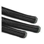 Qsp 10metres 9–26mm Sleeving- tressée extensible Noir tressé Gaine câble flexible–Polyester de la marque QSP image 1 produit