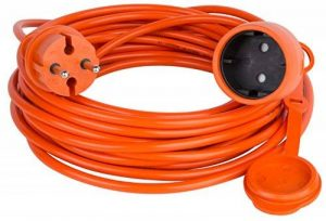 Rallonge câble rallonge d'alimentation Jardin Orange Différentes longueurs 15.0 Meter Orange de la marque ACAR image 0 produit