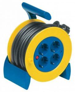 REV Ritter Mini enrouleur de câble H05VV-F3G Bleu/jaune 15m de la marque REV Ritter image 0 produit