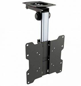 RICOO Support TV plafond orientable inclinable D0122 téléviseur suspendu caravane 12V PC Plasma Smart OLED incurvé fixation télé LED LCD 3D 4K VESA 200x200 universel toutes marques de televiseur de la marque RICOO image 0 produit