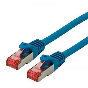 ROLINE Cordon LAN Cat 6 - Component Level - Câble réseau S/FTP Ethernet avec connecteur RJ45 - bleu 10 m de la marque ROLINE image 0 produit