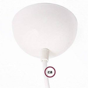 Rosace vernie Blanc + 1 Serre câble Blanc + 1 Écrou + 1 Tendeur de Câbles de la marque Creative-Cables image 0 produit