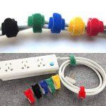 senhai Lot de 52 Attaches de Câbles en Velcro, Lien Bandes Rubans Adhésifs pour la Rangement de Câbles Attacher Sacs de la marque senhai image 4 produit