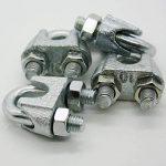 'Serre-câble 10mm 3/8bloqueur de corde en forme étrier pour cordes en acier Lot de 4 de la marque Palme Technik image 4 produit