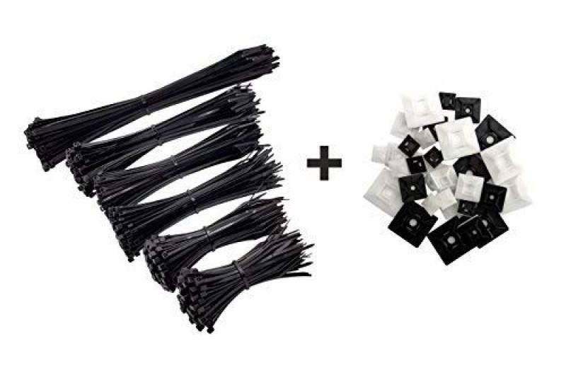 Gocableties Lot de 100/serre-c/âbles en nylon de qualit/é sup/érieure 100 x 2,5/mm violet