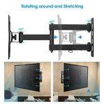 SIMBR Support Mural TV Orientable Inclinable Télévision de 19-45 Pouces Convient Écran LED LCD Plasma Plat VESA Max 200×200mm Capacité Max 35kg de la marque SIMBR image 3 produit