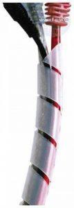 Spiral Cable Wrap, 6-60 mm, natural colour, 10 m de la marque Tecline image 0 produit