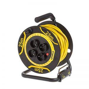 Stanley SXECDL26BSE Enrouleur de câble électrique, Noir de la marque Stanley image 0 produit