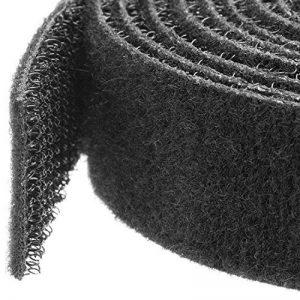 StarTech.com Attaches de câble à boucles auto-agrippantes en vrac - Rouleau de 30,4 m - Sangle pour câbles sur mesure - Noir de la marque StarTech.com image 0 produit