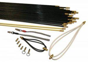 Super Rod CRBS24 Kit d'installation pour antenne et câble comprenant 4 baguettes tire-fil 24m de la marque Super Rod image 0 produit