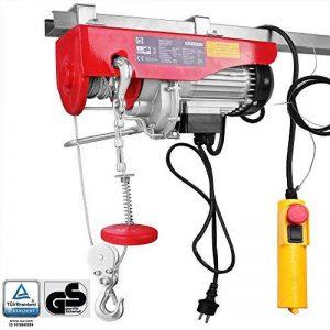 Treuil électrique 200 - 400 kg avec câble en acier et boîtier de commande de la marque Monzana image 0 produit