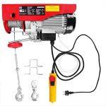 Treuil électrique 200 - 400 kg avec câble en acier et boîtier de commande de la marque Monzana image 1 produit