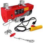 Treuil électrique 200 - 400 kg avec câble en acier et boîtier de commande de la marque Monzana image 3 produit