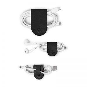 Twelve South 12-1716 Enrouleur de Cuir pour câble Noir de la marque Twelve South image 0 produit