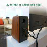UGREEN Attache Câble Sangle Serre Câble Boucles et Crochets Réutilisable pour Ranger et Organiser Câble TV PC Electrique (5m) de la marque UGREEN image 4 produit