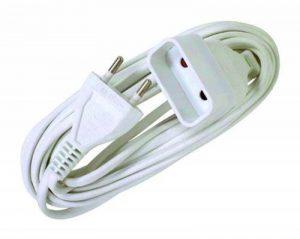 Voltman VOM530463 Prolongateur Rallonge électrique 6A 2 G0 75 10 m de la marque Voltman image 0 produit
