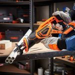 VonHaus Scie Sabre Max 20 V — Vitesse variable, Changement de lames sans outils, 2 lames à bois, Course de 22 mm — Batterie, chargeur et sac à outils inclus de la marque Vonhaus image 3 produit