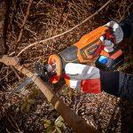 VonHaus Scie Sabre Max 20 V — Vitesse variable, Changement de lames sans outils, 2 lames à bois, Course de 22 mm — Batterie, chargeur et sac à outils inclus de la marque Vonhaus image 2 produit