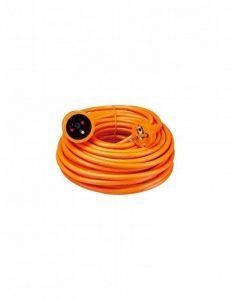 Waytex 51008 Rallonge électrique avec terre intérieur et extérieur 20 m Orange de la marque Velleman image 0 produit