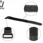 WINTEX 25 attache-câbles en velcro réutilisables en qualité premium - serre-câbles, colliers de serrage avec scratchs de la marque WINTEX image 1 produit