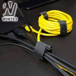 WINTEX 25 attache-câbles en velcro réutilisables en qualité premium - serre-câbles, colliers de serrage avec scratchs de la marque WINTEX image 3 produit
