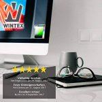 WINTEX 25 attache-câbles en velcro réutilisables en qualité premium - serre-câbles, colliers de serrage avec scratchs de la marque WINTEX image 4 produit