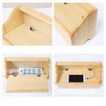 Yosposs câble Boîte de rangement Kz5327-w976en bois Boîte de rangement pour câble, ordinateur de bureau en bois Boîte de rangement Boîte Fil câble cordon Manager Box USB Hubs, Gestion de câble extension Box, 35* 20* 15cm de la marque YOSPOSS image 3 produit
