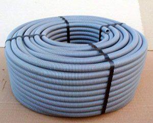 Zenitech 100110 Gaine ICTA avec Tire-Fil, Gris de la marque Zenitech image 0 produit