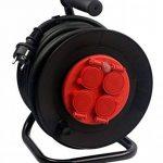 Zenitech - Enrouleur 4P 25m + Coupe-Circuit - IP44 de la marque Zenitech image 1 produit