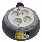 Zenitech - Enrouleur HO5VV-F 4 Prises 3G1,5 3m + Coupe-Circuit de la marque Inotech image 2 produit