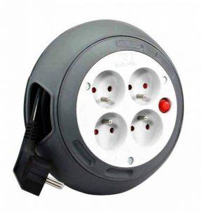 Zenitech - Enrouleur HO5VV-F 4 Prises 3G1,5 4m + Coupe-Circuit de la marque Zenitech image 0 produit