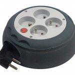 Zenitech - Enrouleur HO5VV-F 4 Prises 3G1,5 4m + Coupe-Circuit de la marque Zenitech image 3 produit