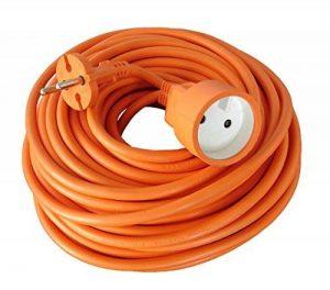 Zenitech - Prolongateur 16A HO5VV-F 2x1,5 Orange 25m de la marque Zenitech image 0 produit