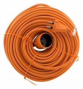 Zenitech - Prolongateur 16A HO5VV-F 2x1,5 Orange 50m de la marque Zenitech image 0 produit