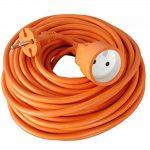 Zenitech - Prolongateur 16A HO5VV-F 2x1,5 Orange 50m de la marque Zenitech image 2 produit