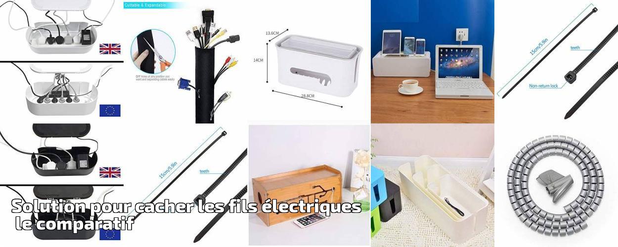 Solution Pour Cacher Les Fils électriques Le Comparatif Pour 2019 | Gestion  Câbles électriques